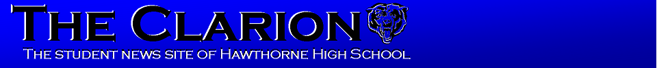 The student news site of Hawthorne High School