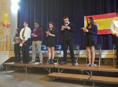 Spanish Honors Society Induction Ceremony