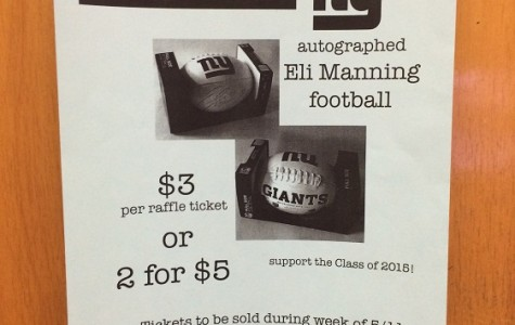Class of 2016 to Raffle off Eli Manning Signed Football