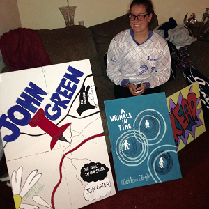 Young Artist Making a Difference: Jacquelyn Hampson