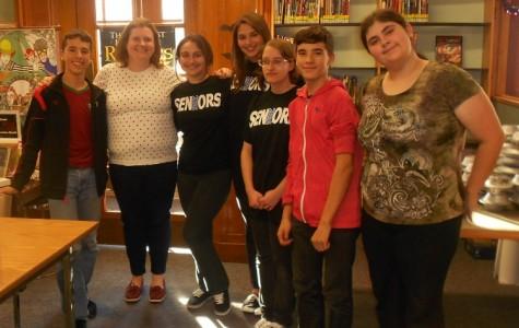 Creative Writing Club Meets YA Author Sandy Hall