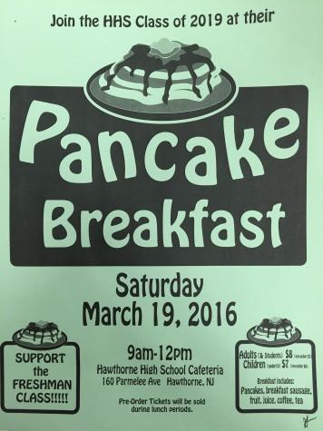 Class of 2019: Pancake Breakfast