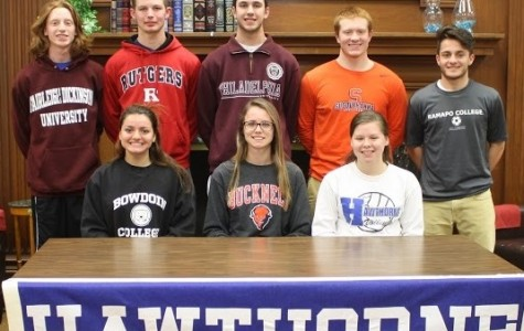 HHS Bears Become College Athletes