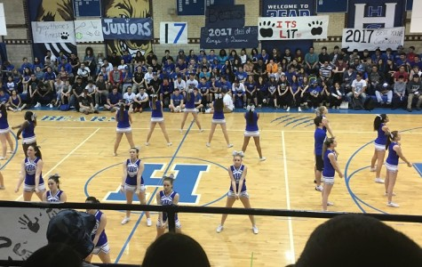Spring Pep Rally at HHS