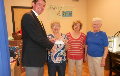Class of 1955 Makes Generous Donation to the High School Library