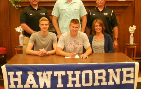 Parker Signs with Sacred Heart