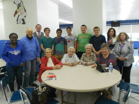 Seniors Citizens & Teens Together