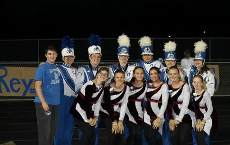 Marching Band: Senior Night Tradition