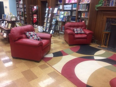 The Media Center's New Chairs