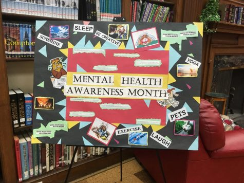 Mental Health Awareness Month in HHS Library