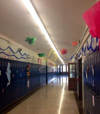 Dr. Seuss Freshmen Hallway