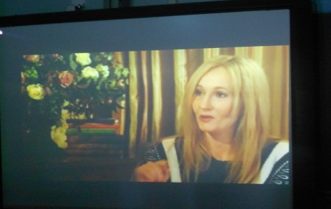 J.K. Rowling Visits HHS via Webcast