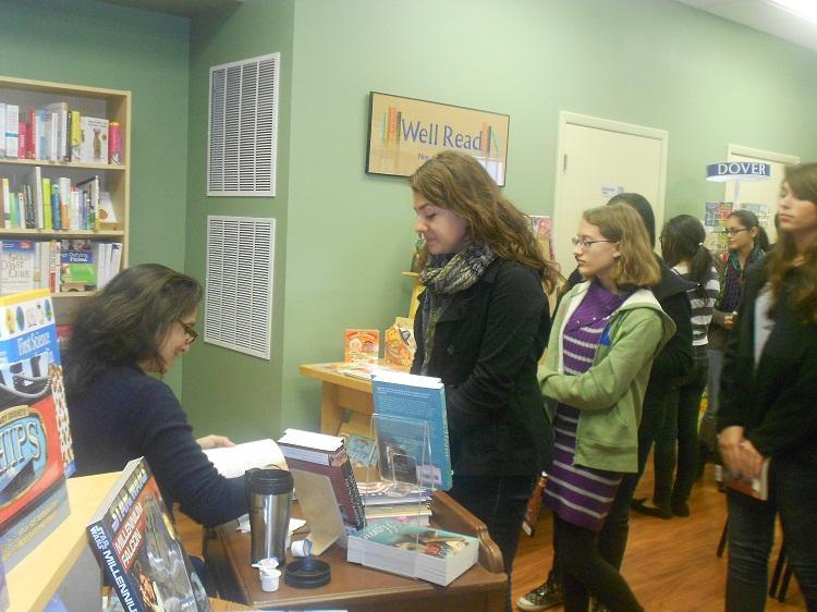 Creative Writing Club Attends Author Presentation