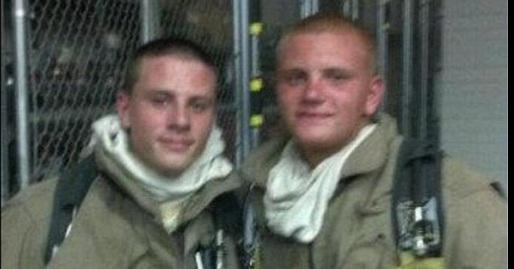Joe and Alex Wojtecki: Volunteer Firefighters