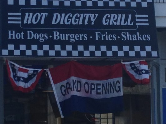 Hot Diggity Grill Grand Opening