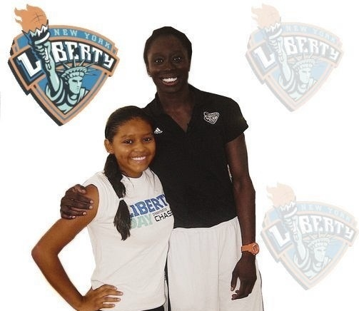 Local Celebrity WNBA Player: Essence Carson