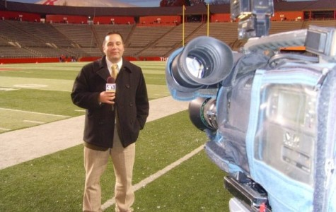 Alum Dan Serafin- Sports Reporter in Action