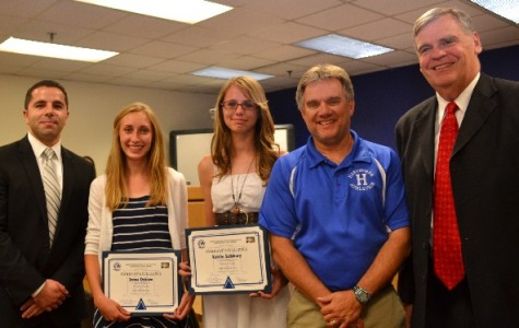 HHS Track Stars Honored
