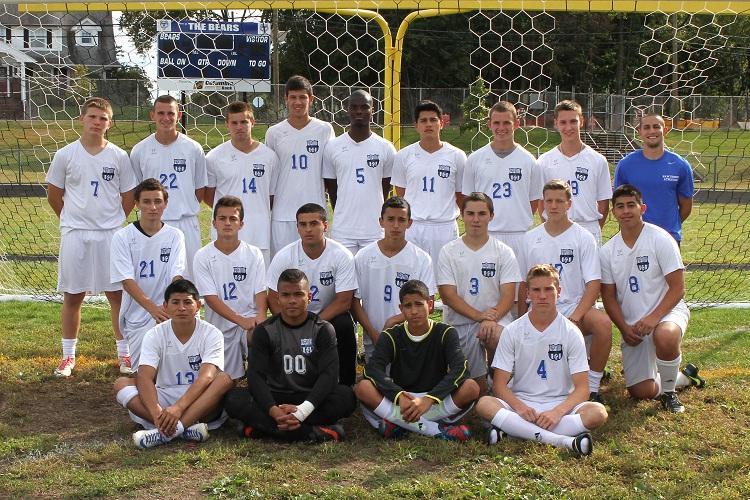 Varsity Boys Soccer Win County Game