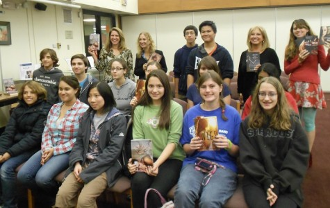 Creative Writing Club Learns a Lesson From the Pros