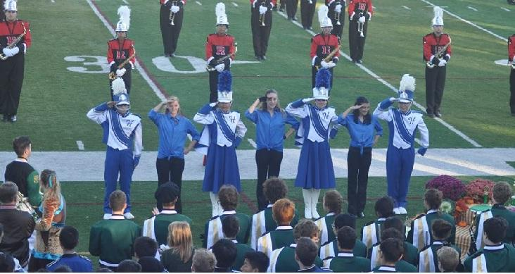 """Marching Band Wins 1st Place at """"Music in the Park"""" Competition"""