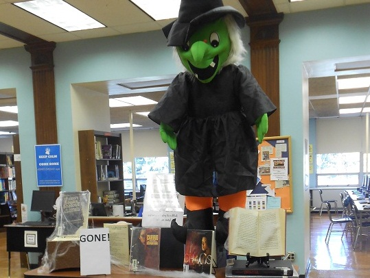 October in the Library Media Center
