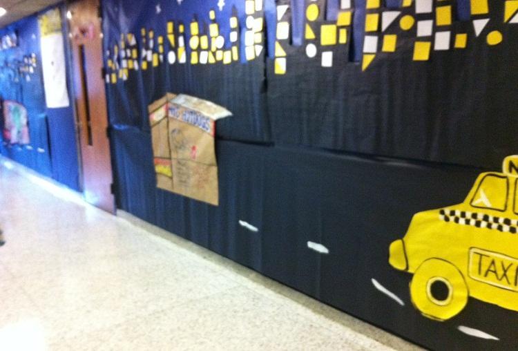 2013 Hallway Decorating