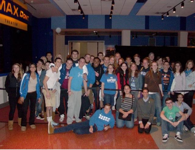 Physics Classes Visit Liberty Science Center
