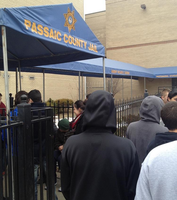 Criminal Justice Classes Visit the Passaic County Jail