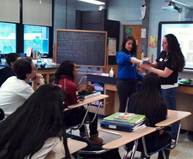 Occupational Therapist In-Training Visits HHS Anatomy and Physiology ...
