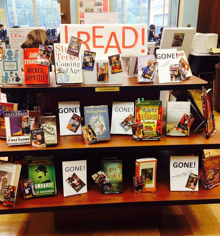 April in the Library Media Center