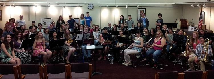 HHS Band Performs for Senior Citizens