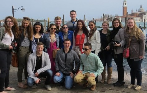 HHS Students Tour Italy