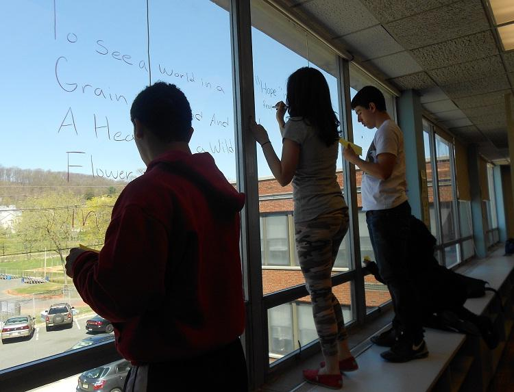 HHS Celebrates the 2nd Annual Joy of Poetry Day