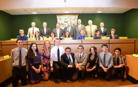 HHS Students Experience Local Government Firsthand