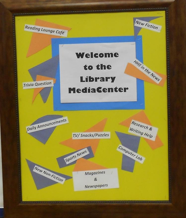 September in Library Media Center