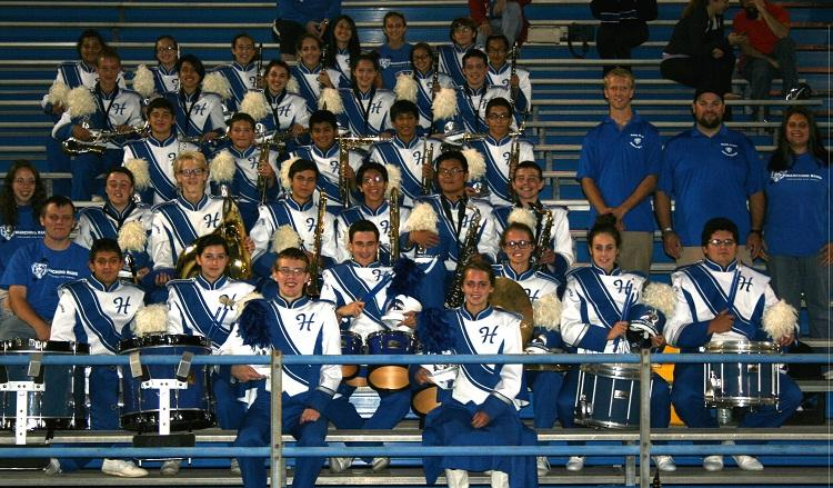 HHS Marching Band Wins First Place