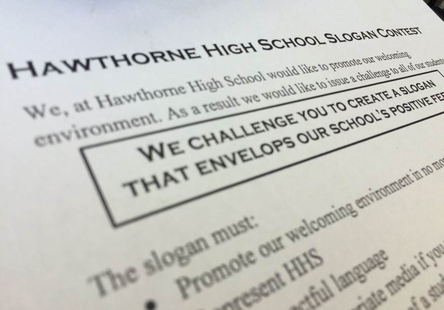 HHS Slogan Contest