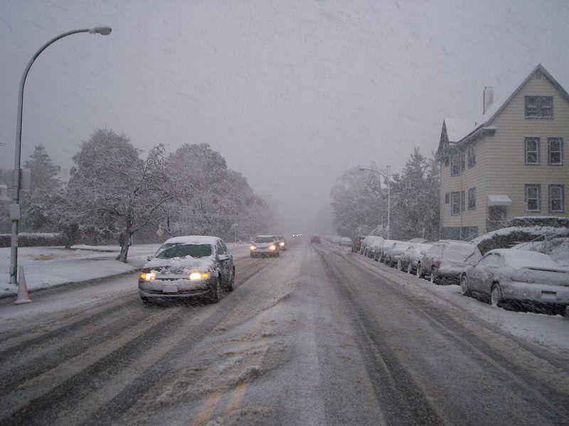 Buffalo's First Snow Storm of the Season