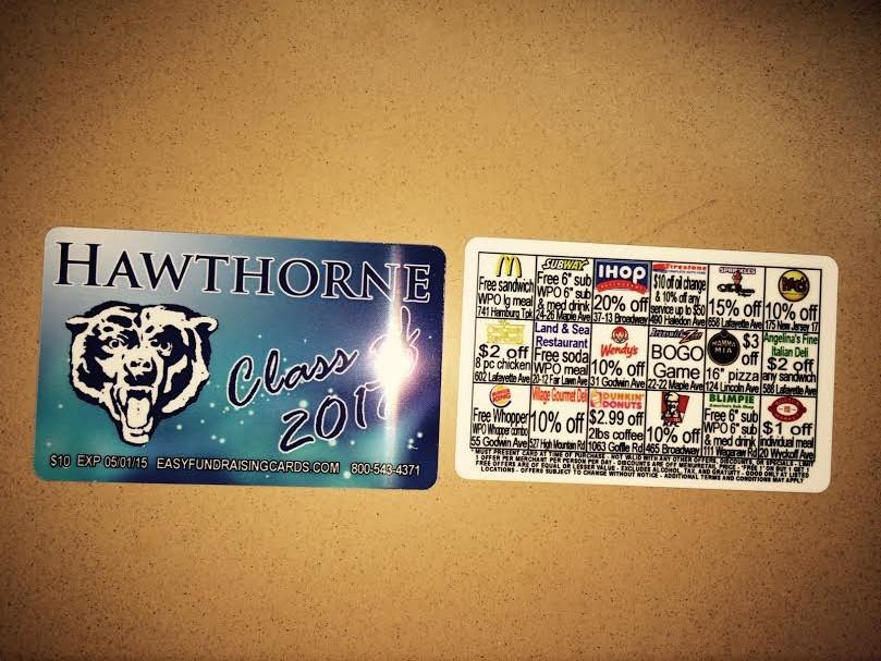 Class of 2017 Discount Card Fundraiser