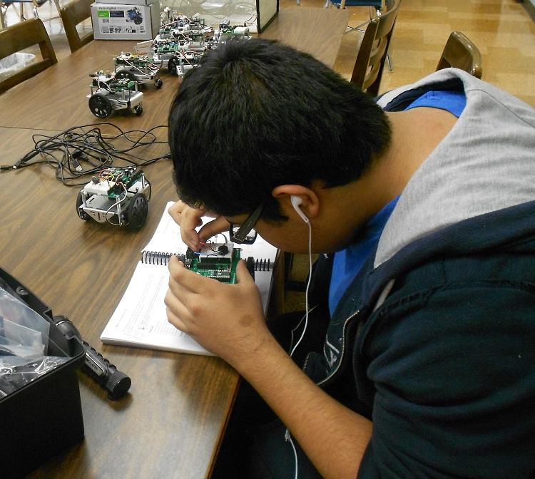 Getting To Know the Robotics Club