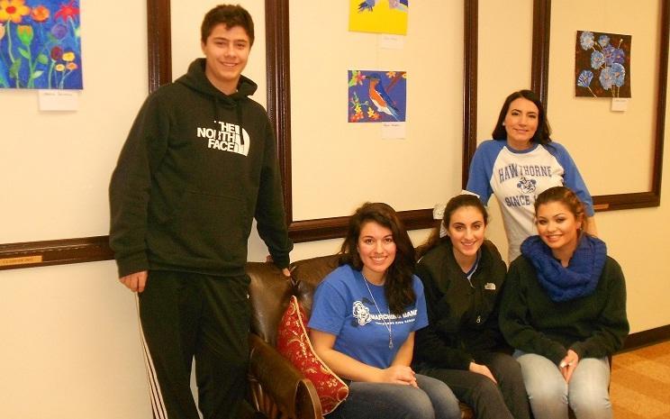 HHS Student Art Gallery Exhibit