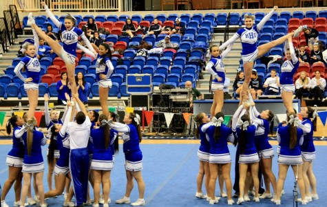 HHS Cheerleaders Win State Championship