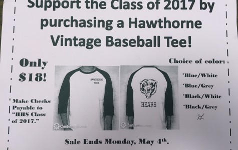 HHS Class of 2017 Vintage Baseball Tee Fundraiser