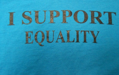 Tee shirt worn on HHS Day of Silence