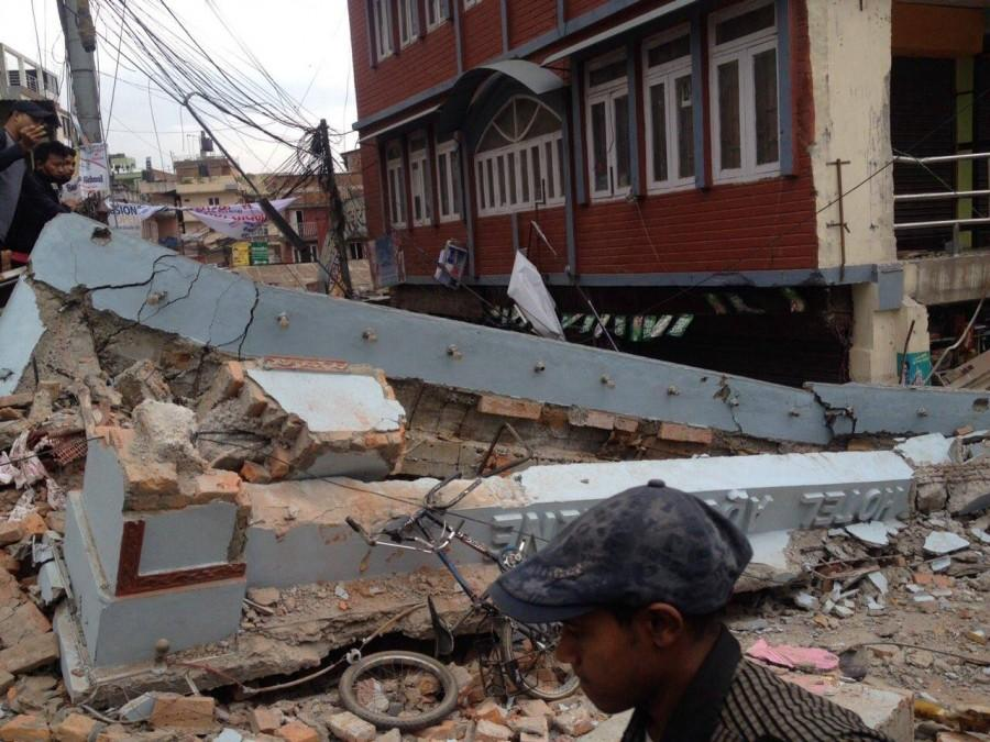Devastation in Nepal