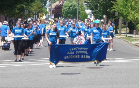 HHS Band at Memorial Day Parade