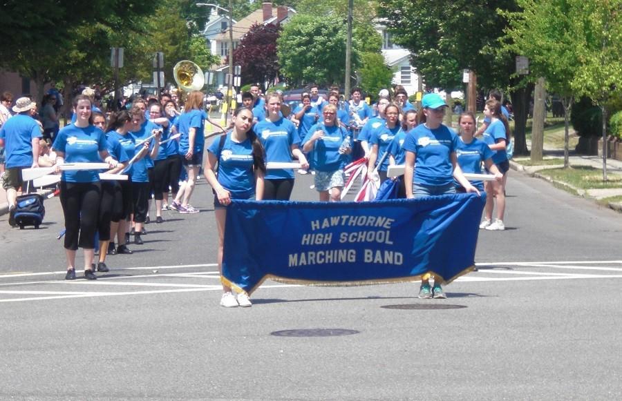 HHS Band at Memorial Day Parade