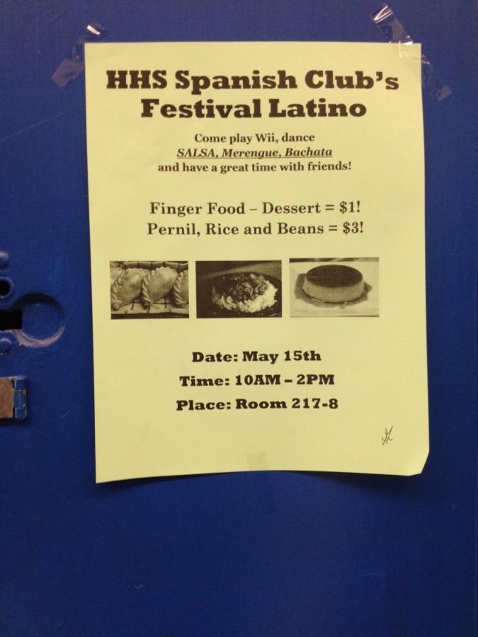 HHS Spanish Club's Festival Latino