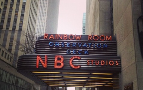 HHS Students Visit NBC Studios